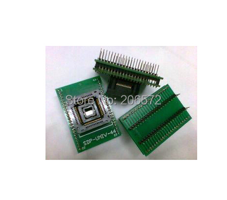 все цены на PLCC44 to DIP40 IC test block Socket
