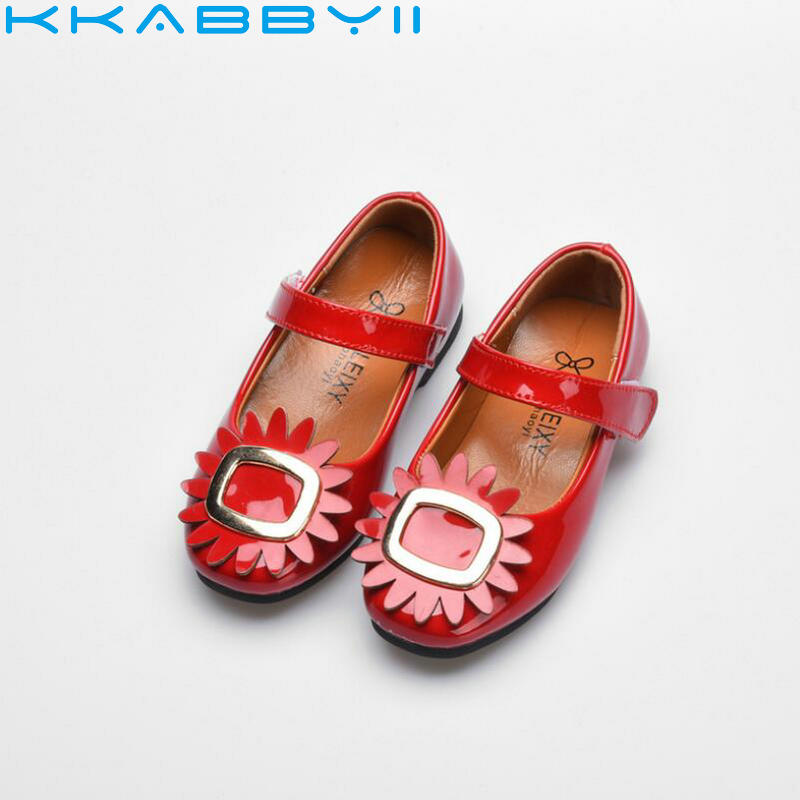 2018 Spring Children Shoes Girls Shoes Brand Fashion Designer Princess Sandals Kids Shoes For Girls Leather Shoes