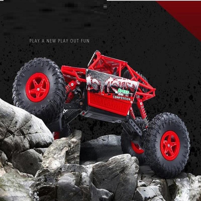Nouveau télécommandé ramper rallye escalade enfants jouets haut de gamme électrique RC voitures 1:18 3CH tout-terrain véhicules 2.4G 4wd grand pied