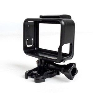 Image 1 - Koruyucu çerçeve kılıf standart açık kabuk + uzun vida + taban montaj GoPro Hero 5 siyah