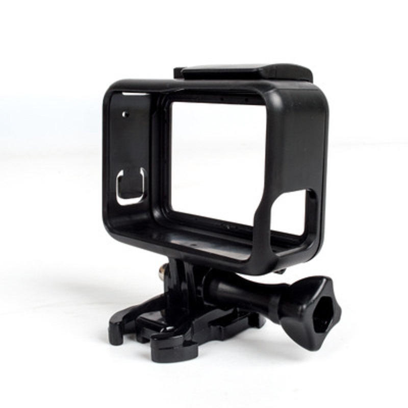Protective Frame Case Standard Open Shell Protector + Lone Screw + Base Mount For Go Pro Hero 5 Black