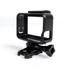 Rama ochronna standardowa otwarta powłoka + długa śruba + podstawa uchwyt na GoPro Hero 5 Black
