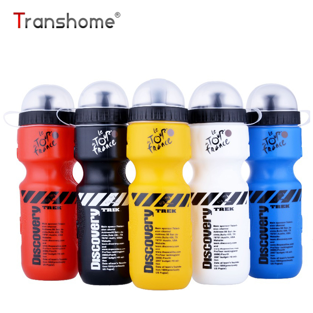 Cheeki Sports Bottle Lids: Transhome Sports Water Bottle 650ml Bicycle With Lid