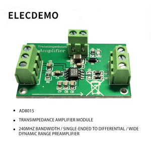 AD8015 Integrated Transimpedance Amplifier Module Single-Ended to Differential 240M Bandwidth 155Mbps Data Rate