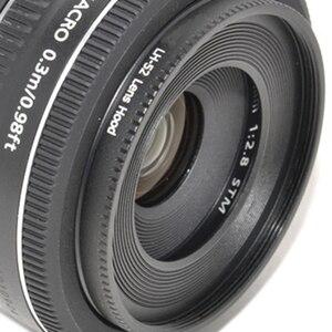 Image 3 - Foleto ES 52 metalowa osłona przeciwsłoneczna cień LH 52 obiektyw aparatu ochrona dla Canon EF S 24mm f2, 8 STM EF Canon 40mm EF f/2.8 STM