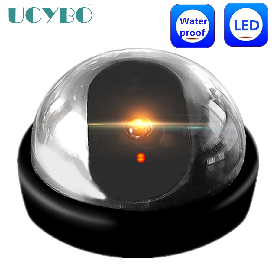 Dummy Fake Camera CCTV Security Indoor Outdoor Red Leds Flashing Light Video Surveillance False Dummy Cameras