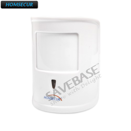 HOMSECUR 433MHz Home Alarm Accessories(Pet-FriendlyPIR/Smoke Sensor/Gas Sensor/IP camera/etc) For Our 433MHz Home Alarm Systems