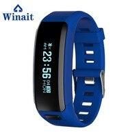 Winait Hot Sale F1 Smart Bracelet With Movement Mileage Record Sleep Monitoring