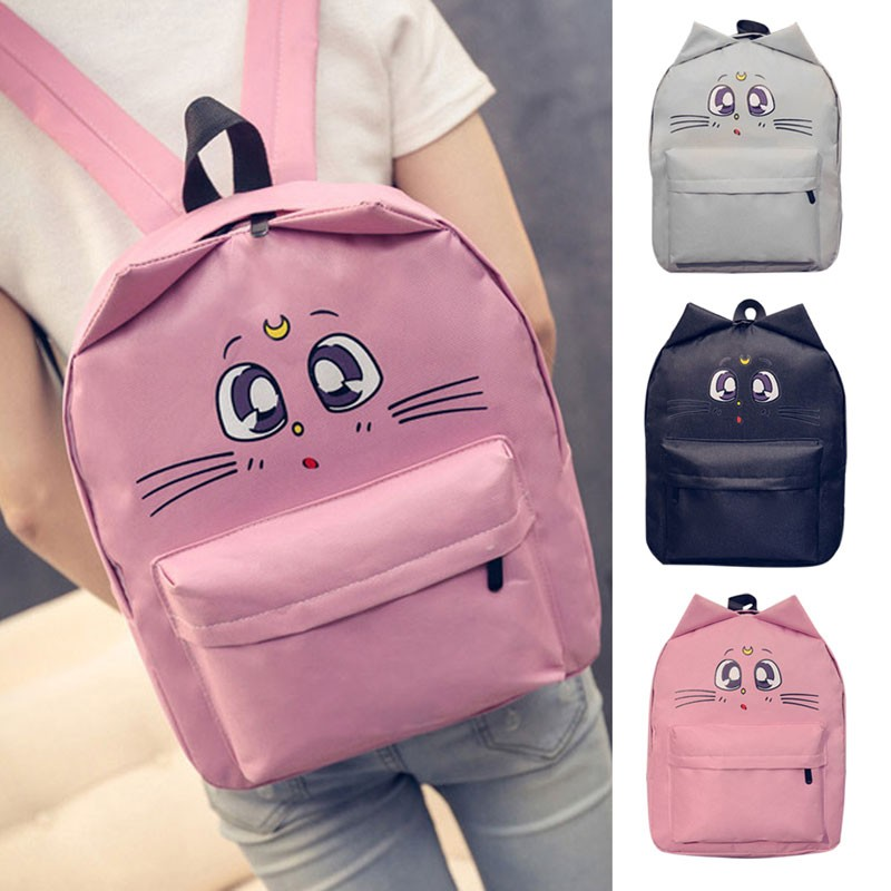 Lovely Cat Large Capacity Backpack