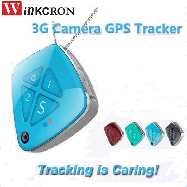 Traqueur GPS 3G avec caméra intelligente V42 GPS WIFI LBS suivi en temps réel surveillance d'image à plusieurs positions