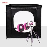 LED studio set 50CM softbox shooting equipment photography box photo light box shooting table props CD50 T03