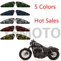 Motorcycle Decals 3d Skull Skull Bone Emblem Tank Traction For Harley Motorbike Decals Motorcross Paper Sticker