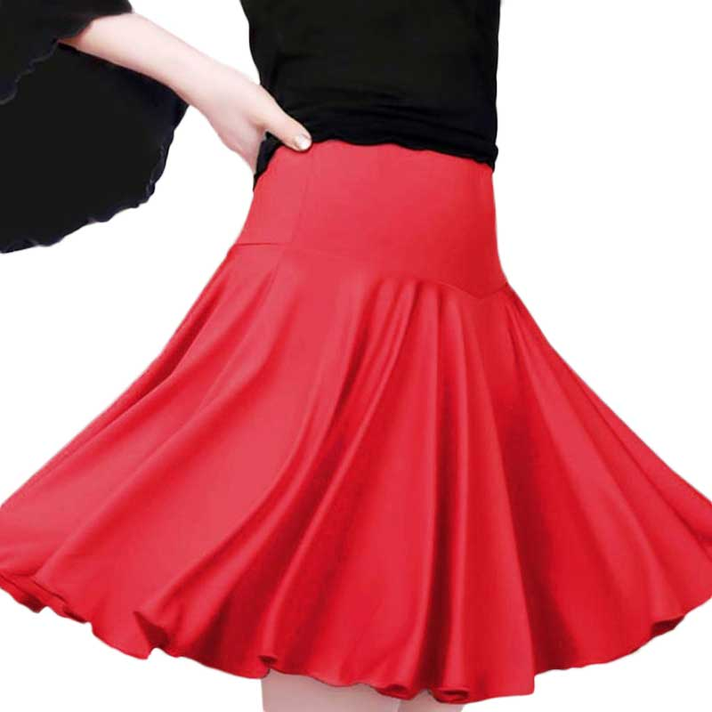 2018 Newest Women's Adult Dance Latin Dance Skirt Adult Square Dance Skirt Skirt Dress Contains