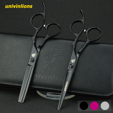 6univinlions professional hair scissors barber hairdressing hairdersser japan cutting shears haricut tijeras peluquero
