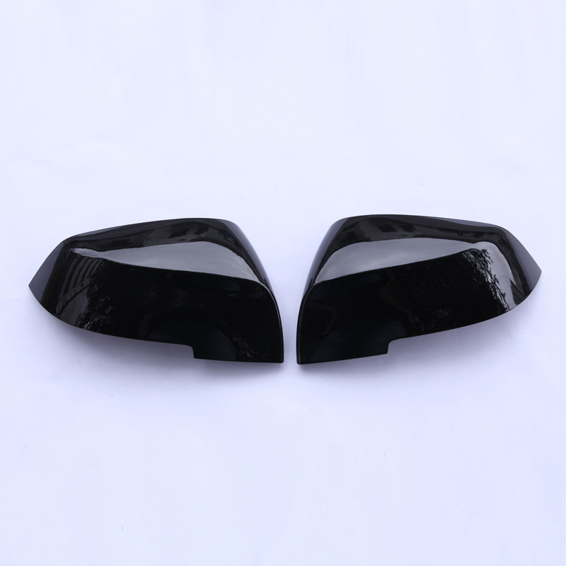 For BMW 3 Series F30 F31 2013-2016 Car Accessories Car Outside Review Mirror Cover Trim Sticker Piano black Pearl Chrome Colors