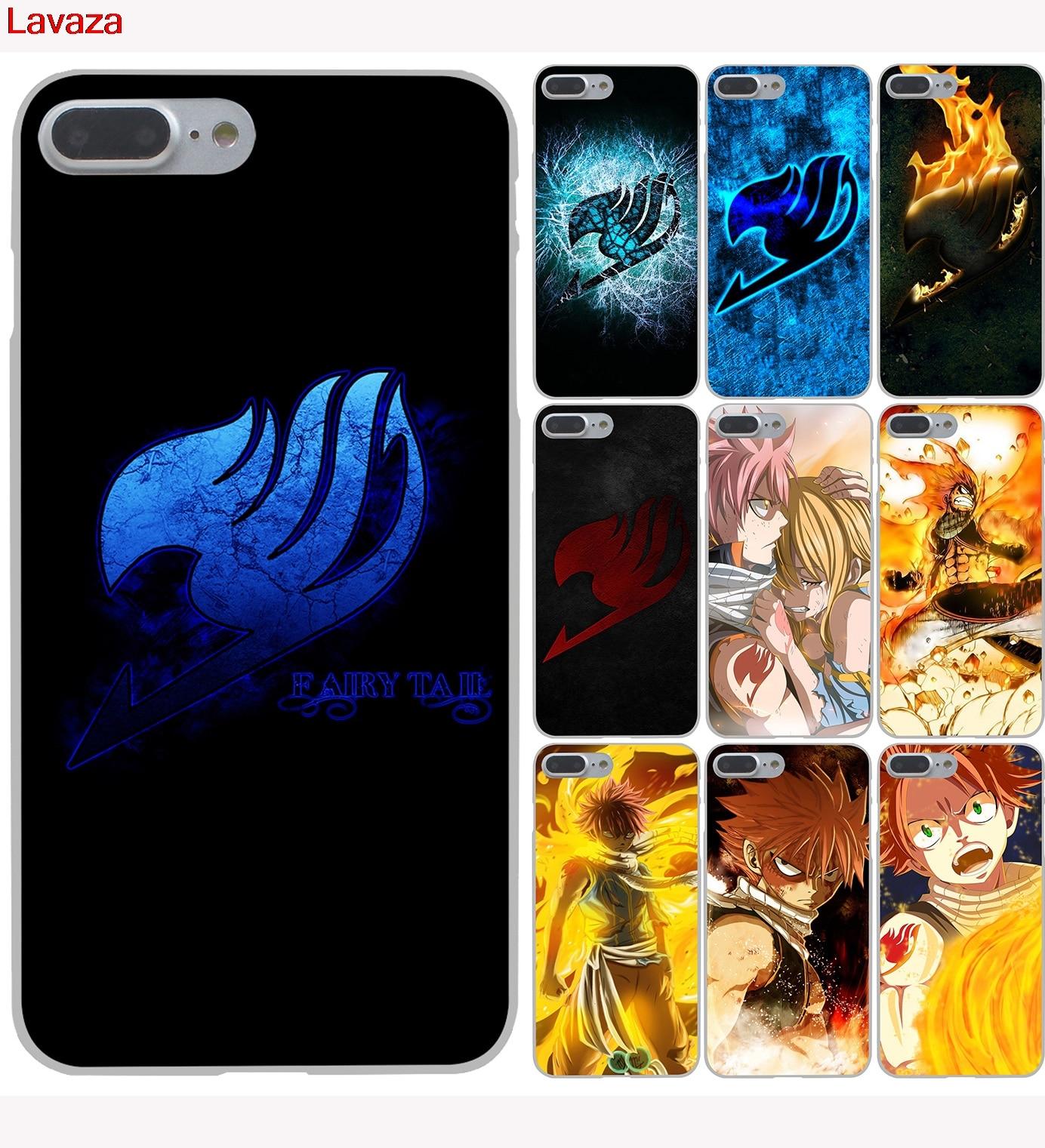 Lavaza Anime Manga Fairy Tail Hard Phone Case For Apple IPhone X 10 8 7 6 6s Plus 5 5S SE 5C 4