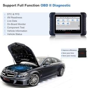 Image 3 - 2020 orijinal Autel MK808BT OBD2 tarayıcı araç teşhis aracı fonksiyonları EPB/IMMO/DPF/SAS/tpms daha iyi fırlatma x431