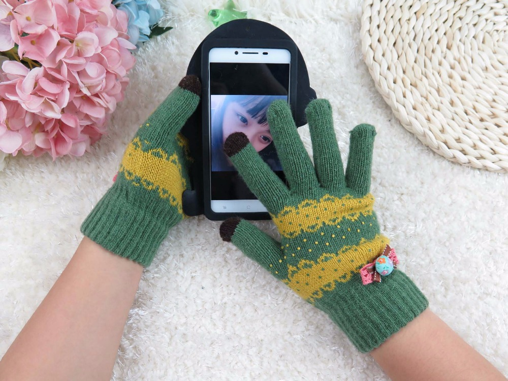 GLV953 stripe multifunctional touch screen font b gloves b font Outdoor sports mobile phone font b