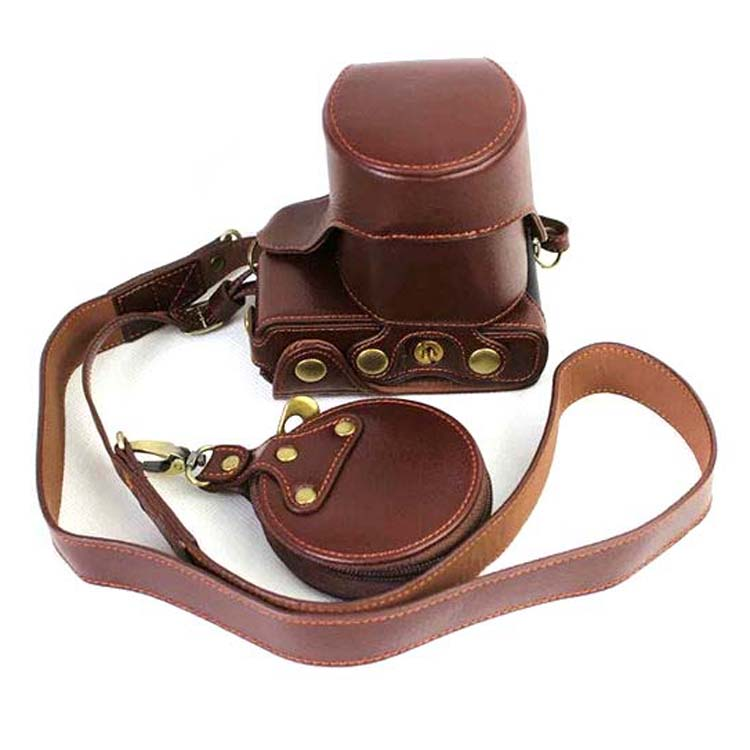 Black/Coffe/Brown Digital Camera Genuine Leather Case Cover for Canon EOS M10 EOSM10 Battery Open Camera Case fashion design of kids room lamp nordic dome light 3 5 heads ceiling lights for home decorate