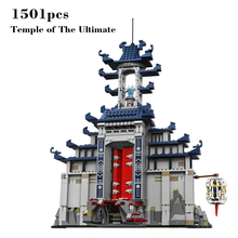 2017 new Ninjagoinglys Movie Series Temple of The Ultimate Set with figure weapons building block brick toys for children gifts