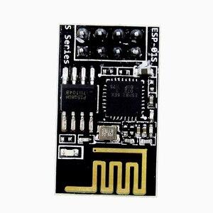 Image 1 - 10 PZ ESP 01S 8266 seriale WIFI Modulo Ricetrasmettitore Wireless Inviare Ricezione AP STA