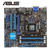 LGA 1155 B75 100% Original ASUS P8B75-M P8B75M/CSM carte mère prise SATA III 4 x DDR3 32GB USB3.0 P8B75-M/CSM carte mère utilisée