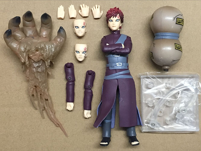 15cm Japanese Anime Naruto  Gaara Collection Action Figure Toys Best Kids Toys For Boys