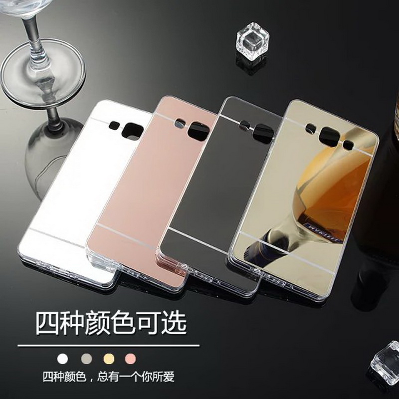 Mirror Soft Silicone Frame Back Cover Ultra Thin For Samsung Galaxy 2016 J1 J2 J3 J5 J7 A3 A5 A7 Note 3 4 5 S3 4 5 6 edge