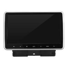 Высокое Качество 10 дюймов Портативный Автомобильный DVD Плеер Активных HD Сенсорный Монитор Игры Ручка ЖК-