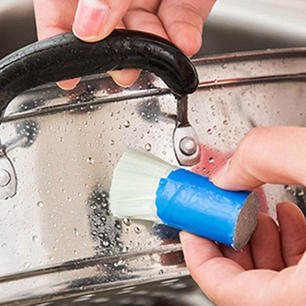 1 шт. Нержавеющаясталь стержень Magic Stick ржавчины очистки для удаления мыть кисти протрите Potdrop доставка