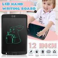 LEORY 12 zoll LCD Handschrift Bord Teilweise kinder Schreiben Dicken Stift Hervorhebung Elektronische Digitale Tabletten