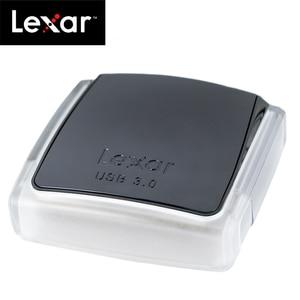 Image 4 - 100% original lexar professional usb 3.0 compactflash leitor de cartão sd/sdxc/sdhc duplo slot reader400 acelerar até 500 mb/s