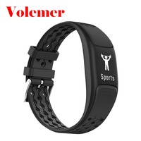 Volemer P8 Smart Bracelet IP68Wrist band Heart Rate Monitor FitnessTracker Step Counter Activity Monitor Band Vibration Color