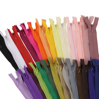 53 cm Invisible Zippers DIY Nylon Coil Zipper For Sewing Clothes Cushion Pillow Tailor Tool 100 pcs/lot