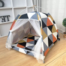 M Portable foldable pet tent playpen outdoor Indoor for cat small dog puppy tents cats toy house teepee