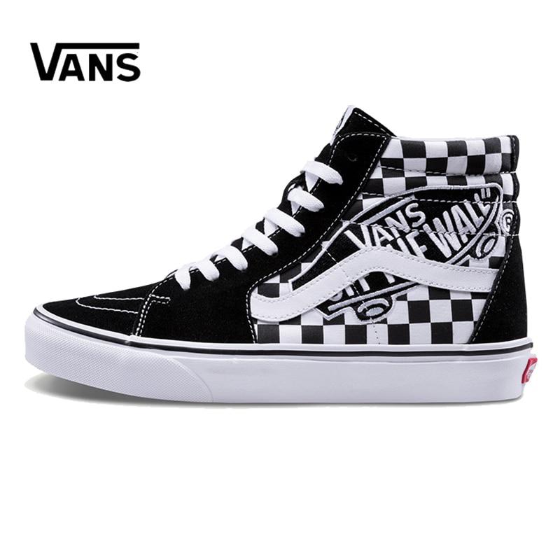 Original New Arrival Vans Men's & Women's Classic Sk8-Hi Skateboarding Shoes Sneakers Canvas Comfortable VN0A38GEUPV
