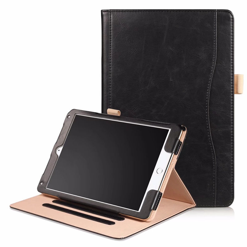 For iPad Air 1 9.7 Cover Case PU Leather Hand Holder Case For iPad Air air1 9.7model A1474 A1475 A1476 Tablet Protective Sleeve for apple ipad air 1 full wrap leather case folio folding cover case with passport case card slot 9 7 inches a1474 a1475 ynmiwei