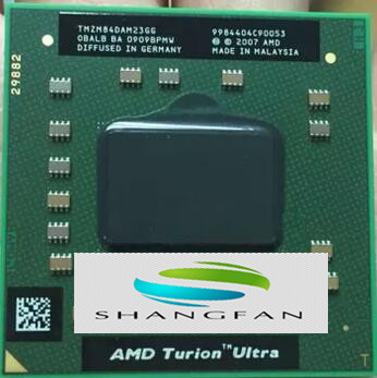 AMD Laptop original CPU TMZM84DAM23GG ZM84 2,3 Ghz/2 Mt PGA638 ZM 84 ZM-84 prozessor PGA 638 Sockel S1
