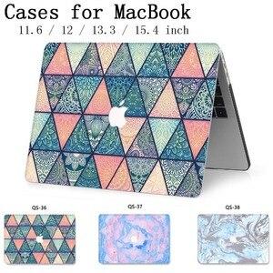 Image 1 - Модный чехол для ноутбука MacBook, чехол для ноутбука, горячая крышка для MacBook Air Pro retina 11 12 13 15 13,3 15,4 дюймов, сумки для планшетов Torba