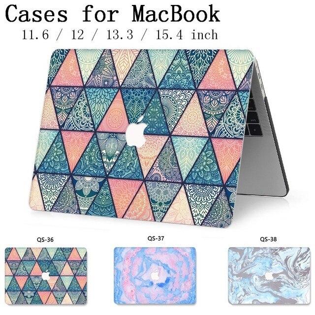 Модный чехол для ноутбука MacBook, чехол для ноутбука, горячая крышка для MacBook Air Pro retina 11 12 13 15 13,3 15,4 дюймов, сумки для планшетов Torba