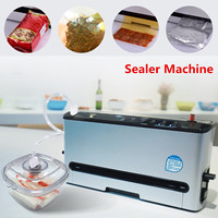 220V Automatic Electric Vacuum Sealing Food Bag Sealer Machine Packing Storage New Arrival