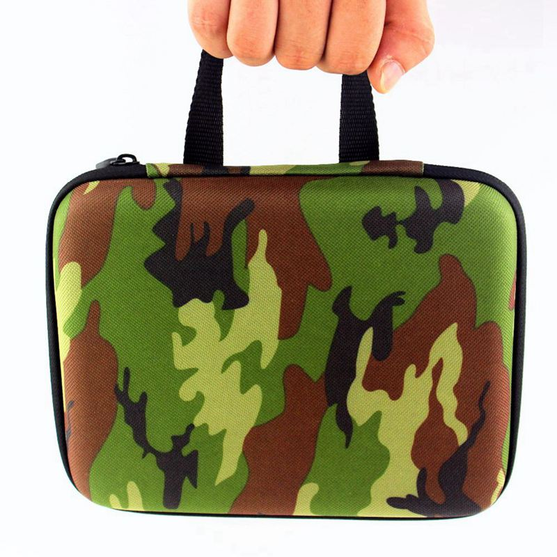BAOFENG UV 5R UV 5RE TYT TH F8 walkie talkie two way radio storage bag storage bag camouflage radio in Walkie Talkie Parts Accessories from Cellphones Telecommunications