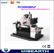 TZ10002MZLP big power mini lathe metal gear milling machine A for DIY amateur