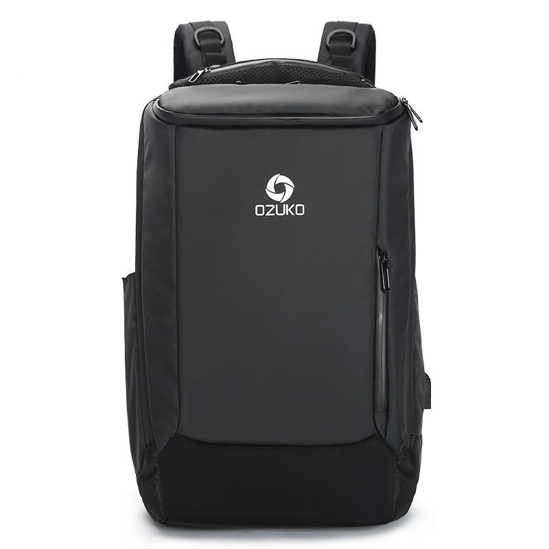 Men's Bags Luggage & Bags Fggs-ozuko Business Backpack Waterproof Computer Travel Backpack Wearable Waterproof Backpack Ample Supply And Prompt Delivery