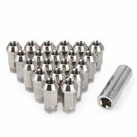 Car Modification 20PCS Stainless Steel Lug Nuts M12x1.25 M12x1.5 M14x1.5 M14x2 Wheel Nuts Bolts For chevrolet Subaru Hyundai|Nuts & Bolts|   -