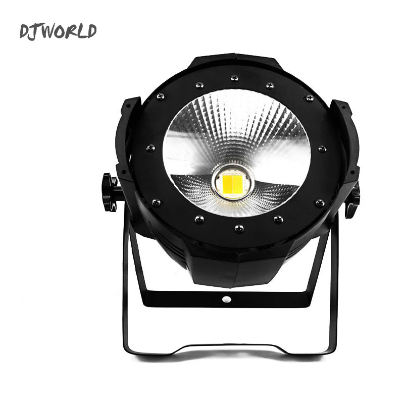 High Power 200W C0B LED Par Cool Warm White 2IN1 Lighting Lamp DMX512 Channel For Stage Effect DJ Disco Lighting Party Light 200w led follow spot light warm white cool white 2in1 rgbw 4in1 zoom dmx512 stage led profile light