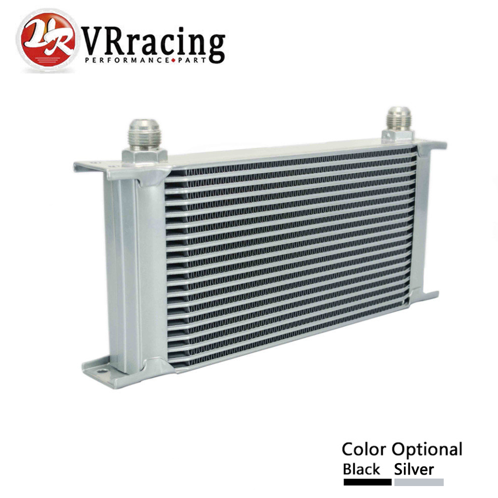 VR RACING - 19 ROW AN-10AN UNIVERSAL ENGINE TRANSMISSION OIL COOLER VR7019 vr racing 16 row an 10an universal engine transmission oil cooler vr7016 2