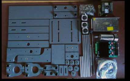 2020 CNC bricolage ordinateur gravure machine CNC fraiseuse circuits imprimés relief sculpture kit avion