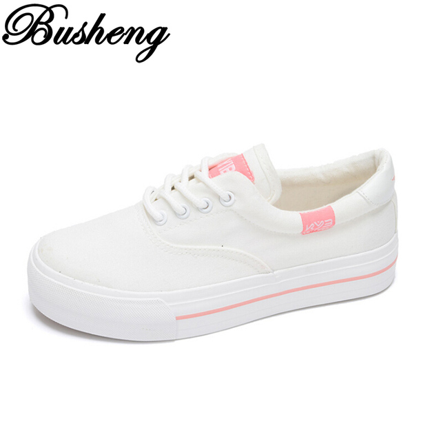 Women Fashion Canvas Shoes Woman Lace Up Black White Casual Shoes Tenis Feminino Ladies Flats Breathable Summer Shoes Zapatos