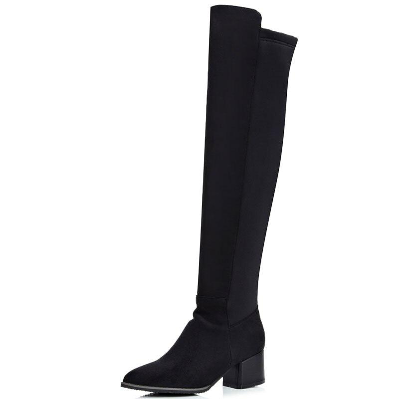 Online Get Cheap Women Long Black Boots -Aliexpress.com | Alibaba ...
